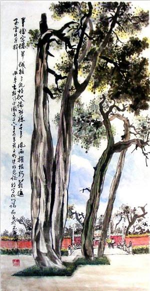 杨树文先生国画作品欣赏