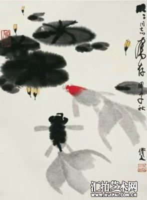 代表作品有油画《画家齐白石》等,中国画《熊猫》,《金鱼》