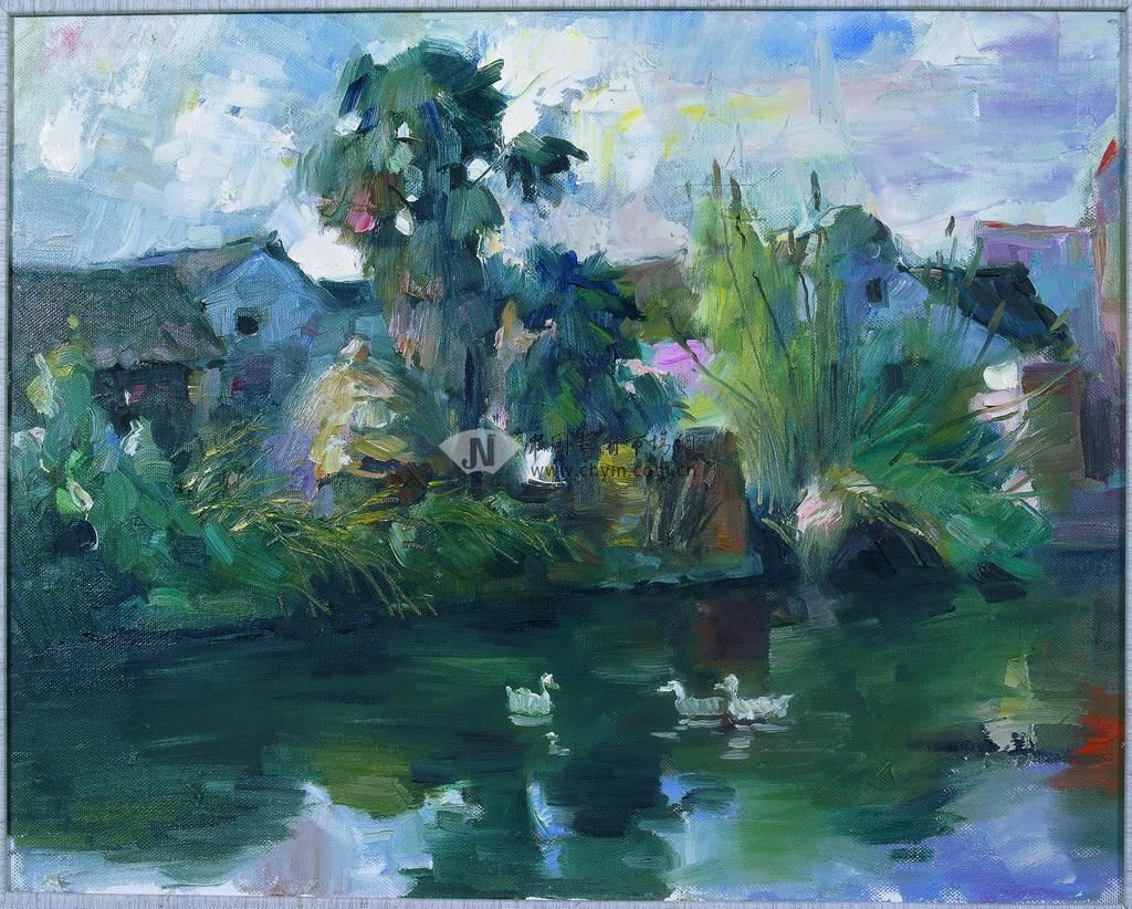 风景油画(09艺术财富专集)(油画作品)
